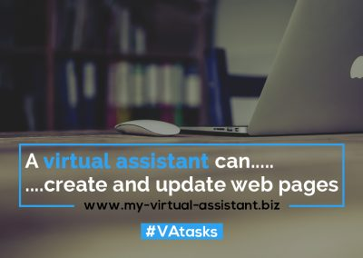 Virtual Assistant Tasks 18