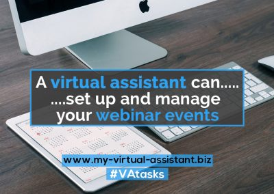 Virtual Assistant Tasks 23