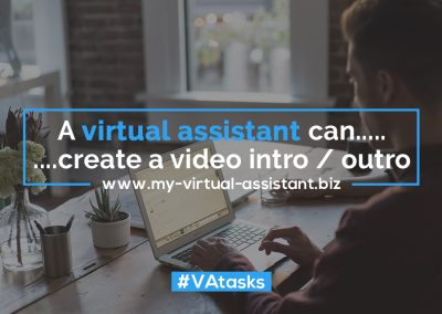 Virtual Assistant Tasks 27