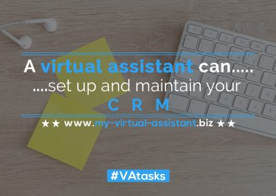 Virtual Assistant Tasks 50